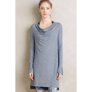 new Anthropologie Cowled Jersey Tunic